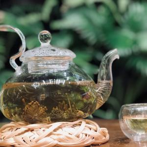 Uống trà tam thất giúp thư giãn, giảm stress