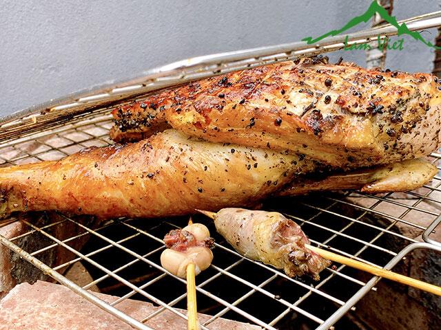 [Chi tiết] Cách làm gà nướng mắc khén hạt dổi chuẩn vị Tây Bắc